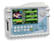 TV aerial and satellite spectrum analyser